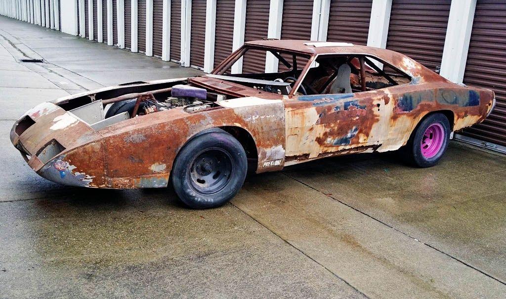 Tragic History 1969 Dodge Charger Daytona 1969 Dodge Charger Daytona Dodge Charger Junkyard Cars