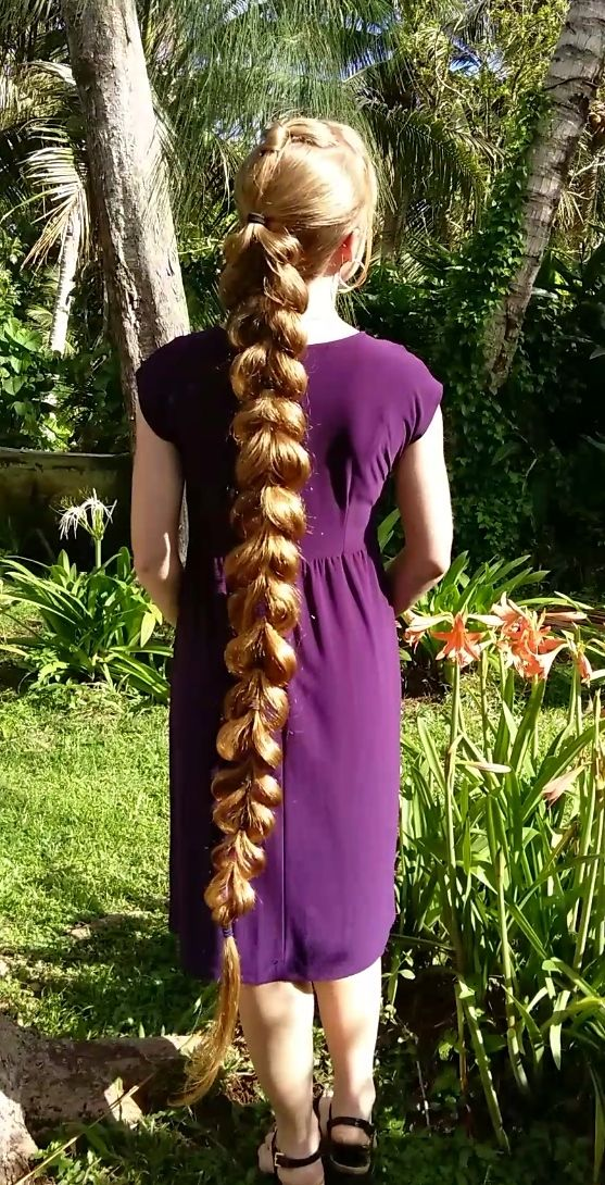 Braids & Hairstyles for Super Long Hair: Hearts-in-Blossom Braid