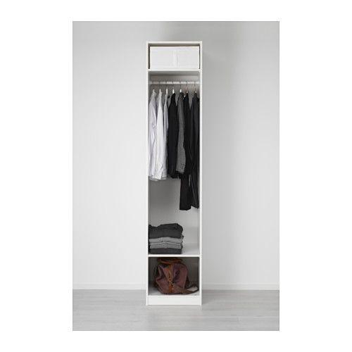 PAX Kleiderschrank - 50x60x236 cm, Scharnier, sanft schließend - IKEA