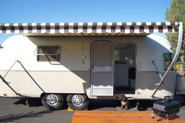 Awning Airstream Google Search Vintage Trailers Airstream Vintage Camper