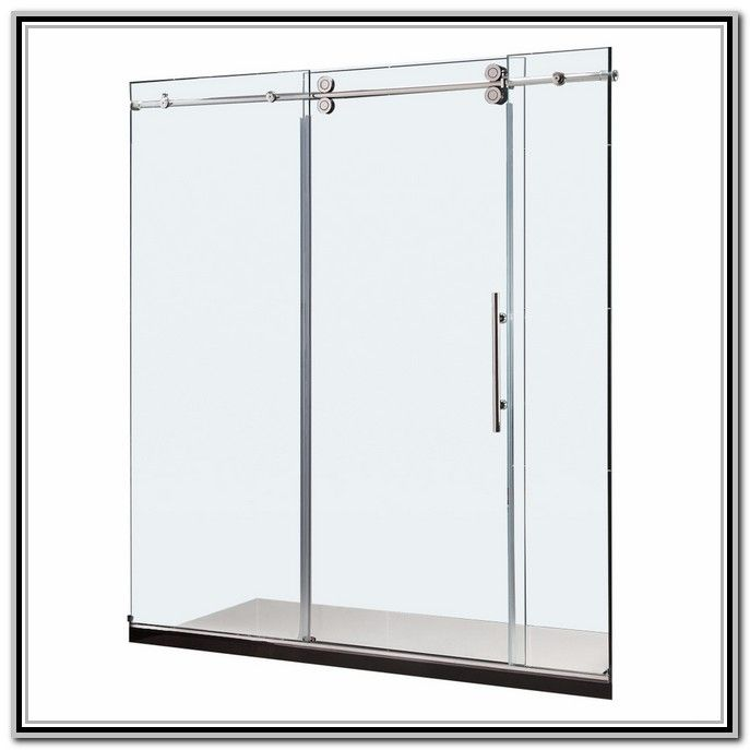Frameless Glass Shower Doors Lowes With Images Glass Shower
