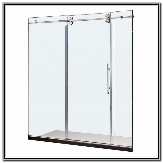 Frameless Glass Shower Doors Lowes Glass Shower Doors Pinterest