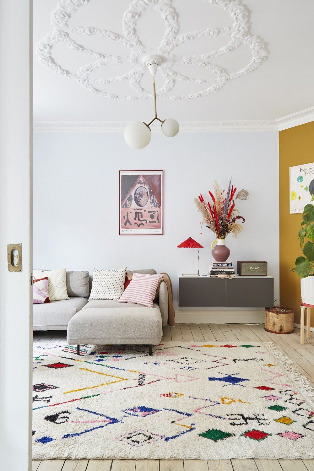 Colorful Touches in a Creative Copenhagen Apartment — THE NORDROOM
