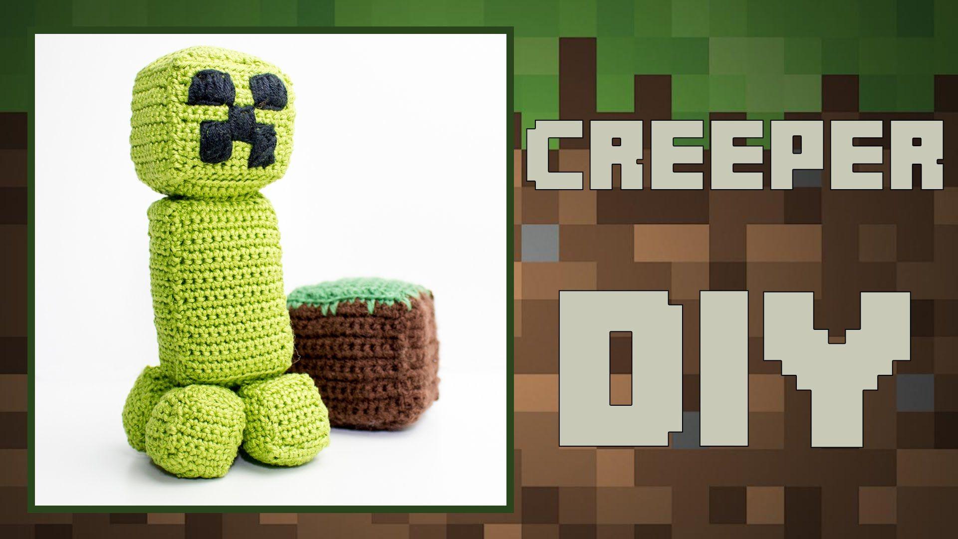 Minecraft Creeper häkeln · Häkelanleitung *Do it Yourself* | Gratis ...