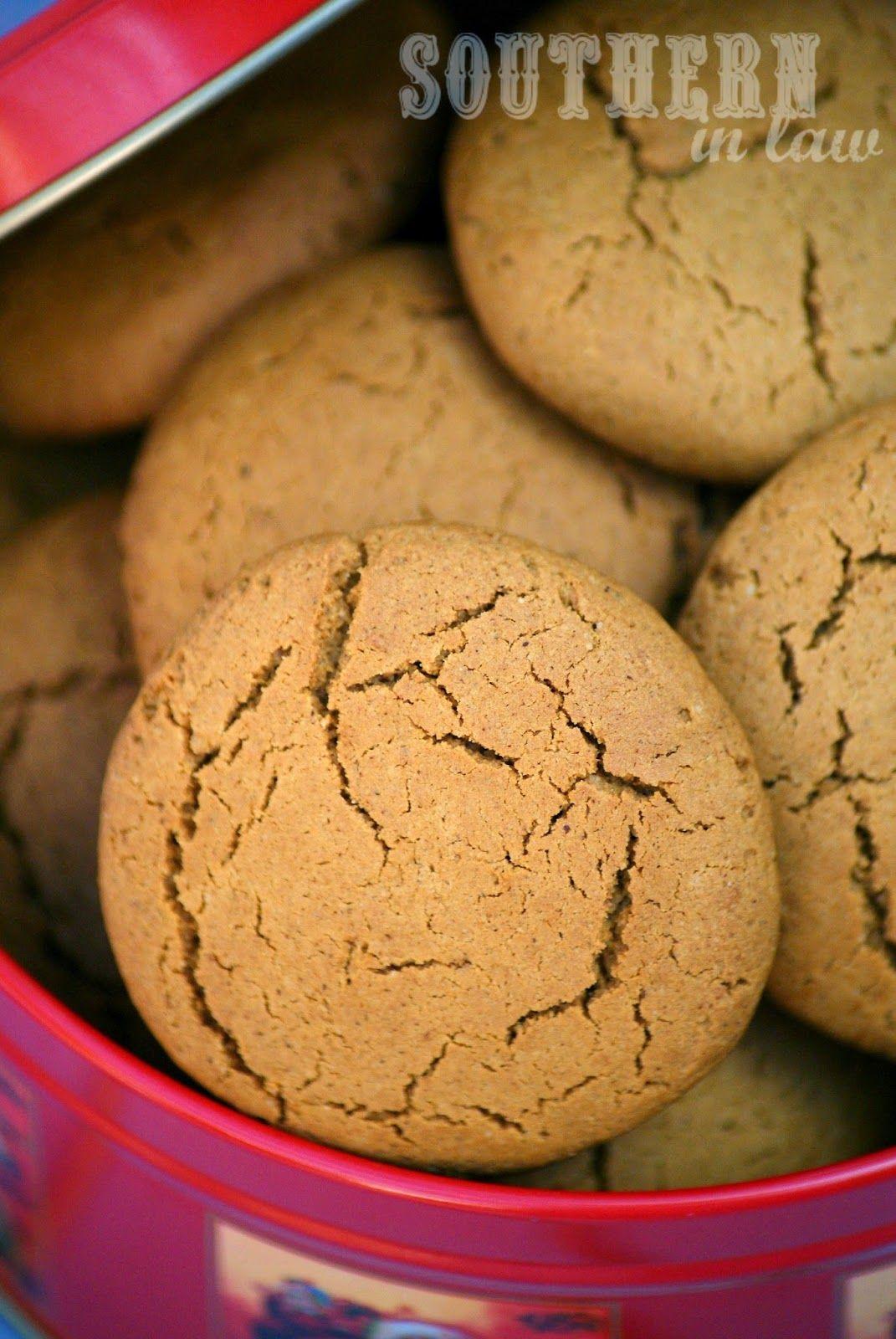Recipe Secretly Skinny Ginger Cookies Gingernut Biscuits Sugar