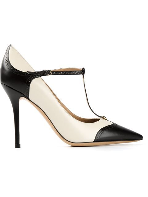 3f9f8ca2dca Salvatore Ferragamo T-bar Pumps - Eraldo - Farfetch.com  these t-strap  babies are simply marvelous