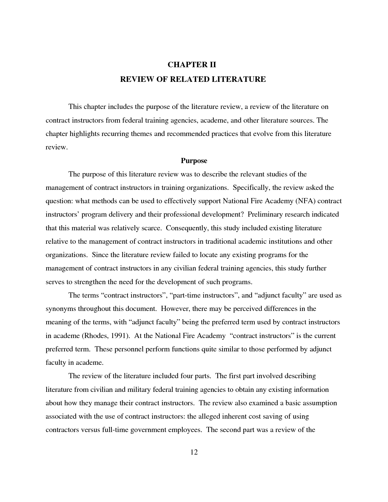 review of related literature in thesis | literature review ...