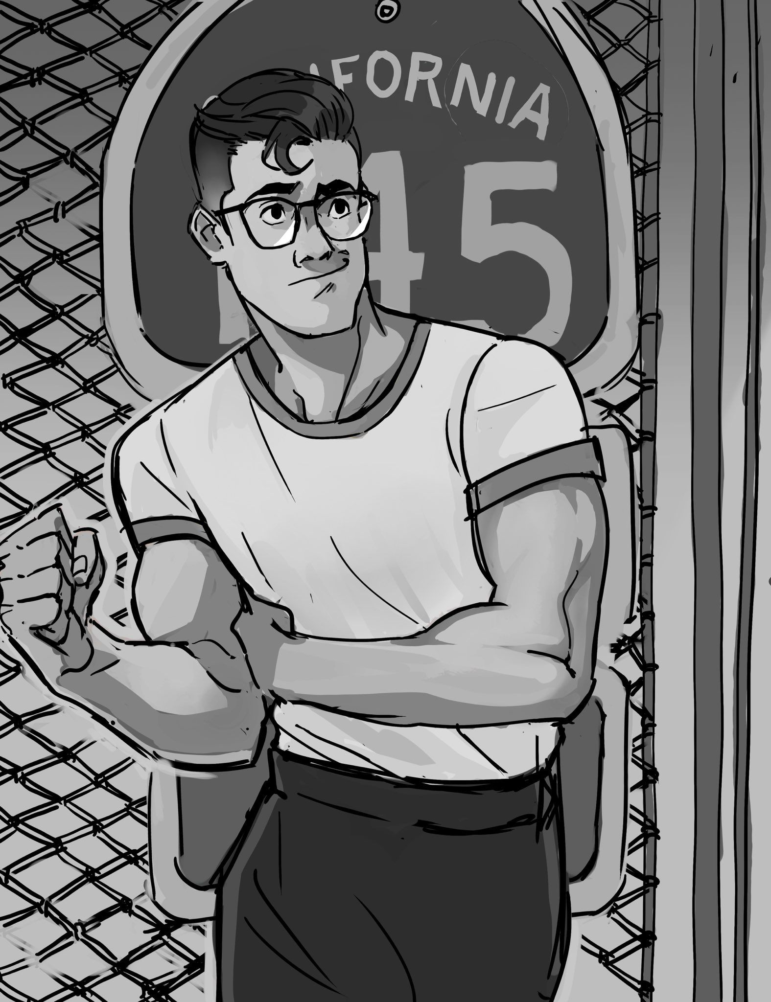 "Buff Guy Drawing : drawing, Pretty, Heart, #Superman"", Drawing,, Cartoon, Styles,"