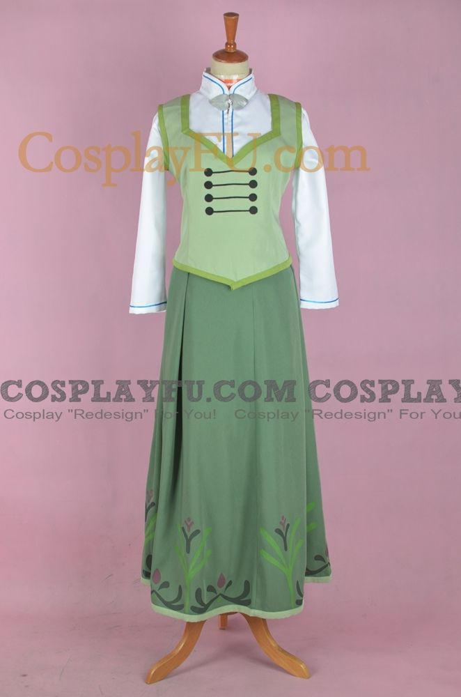 CosplayFU.com offers custom-size Anna Cosplay Costume (Summer) from Frozen. 24/7 Customer support. Free shipping worldwide.
