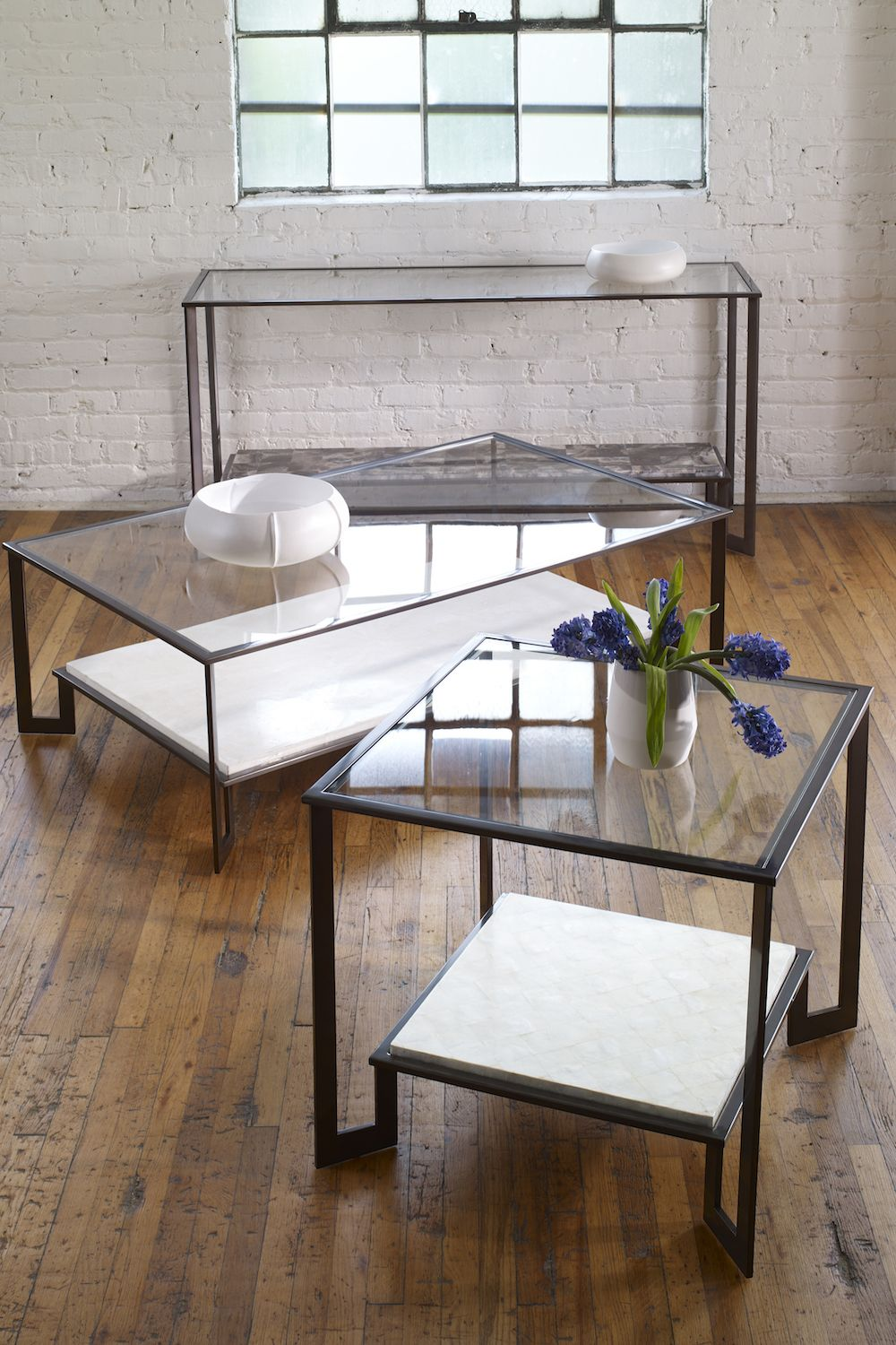 Featured P664s Rocco Console Table Dark Bronze Metal