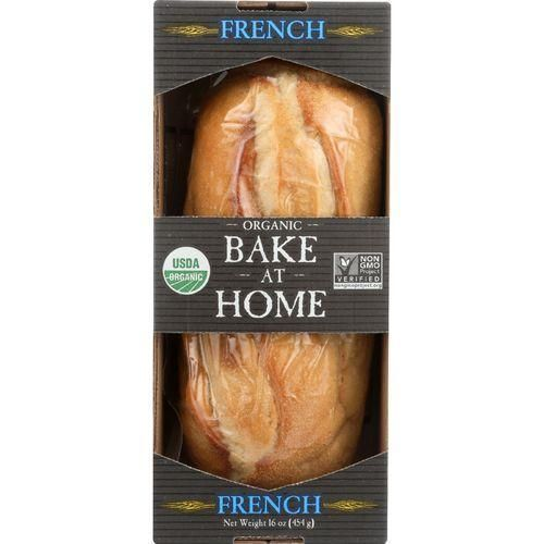 Essential Baking Company Bread Organic Bake at Home French 16 oz case of 12 G240-ECV1716679