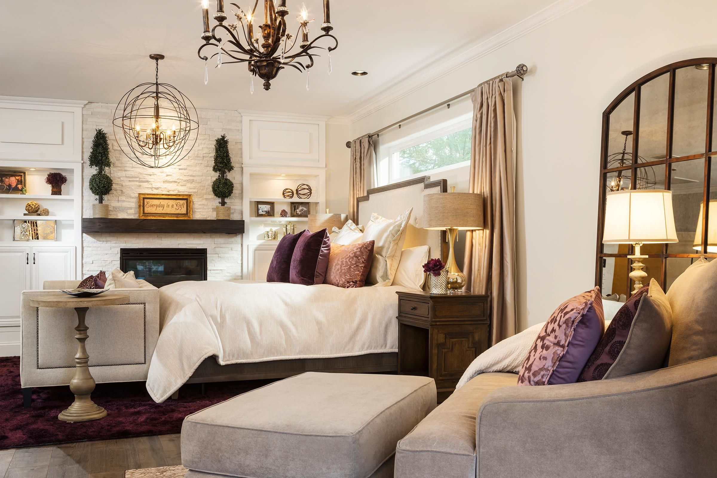 Best Transitional Bedroom Featuring A Rustic Glam Style By 400 x 300