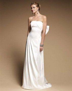 Alexandria Strapless Bow Detailing Wedding Dress