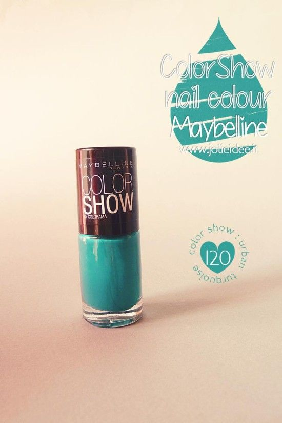 Review Color Show Maybelline 120 Urban Turquoise