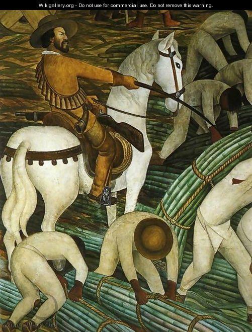 Sugar Plantation Tealtenango Morelos (Ingenio azucarero de Tealtenango Marelos) 1930 to 31 - Diego Rivera