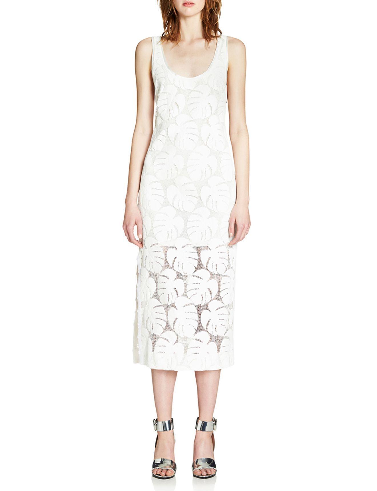 White dress david jones - Urban Jungle Dress David Jones