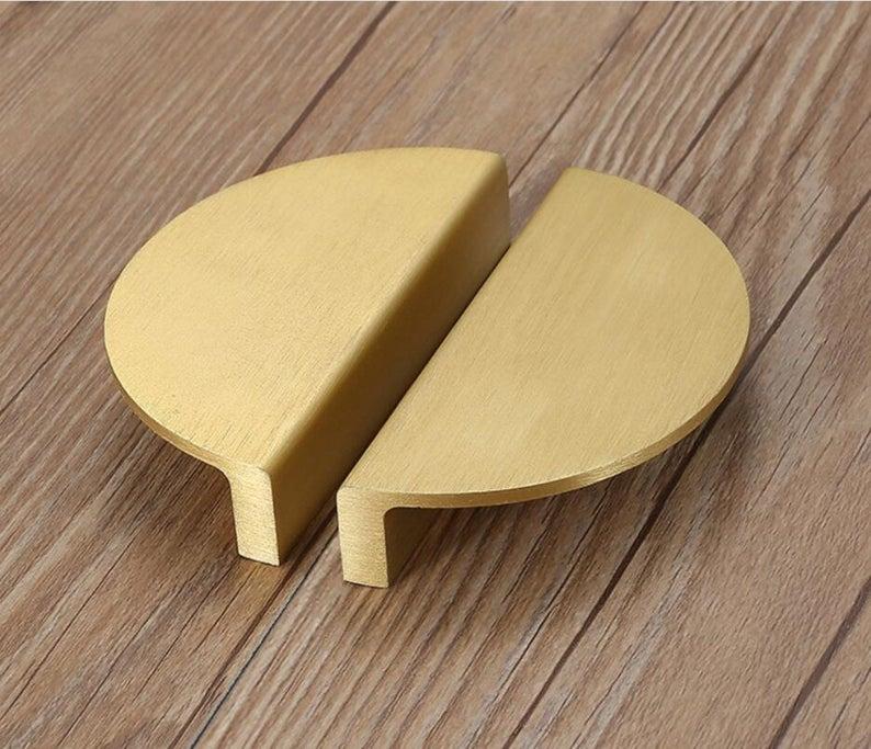 Solid Oak Furniture Wooden Handle 64mm