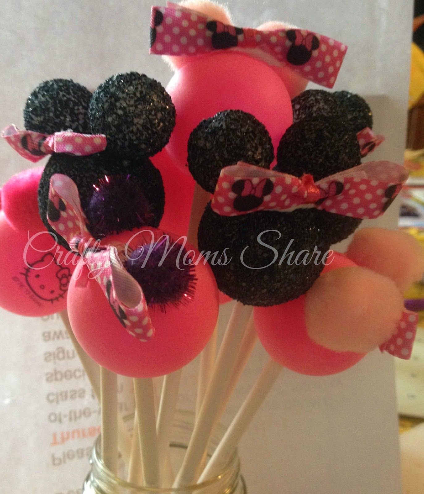 Minnie Mouse Birthday PartyDIY Decorations Minnie mouse Mice