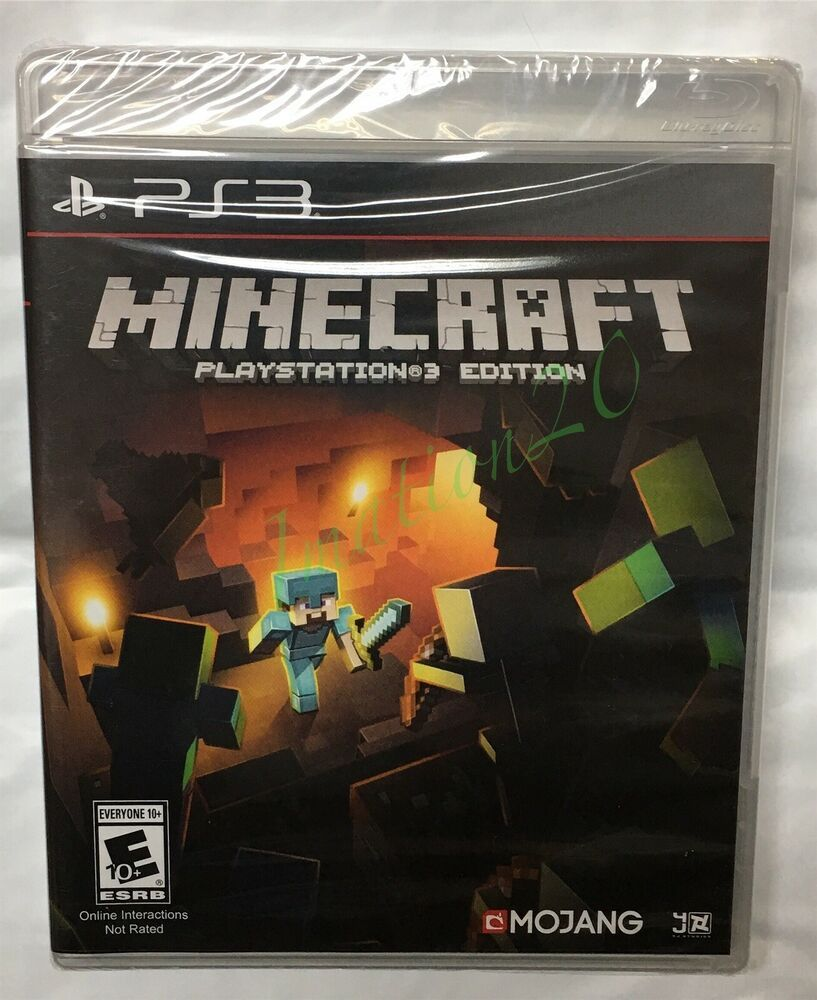 Minecraft Ps3 Edition Sony Playstation 3 2014 Brand New Sealed Fast Free S H Minecraft Playing Game Playstation Sony Playstation How To Play Minecraft