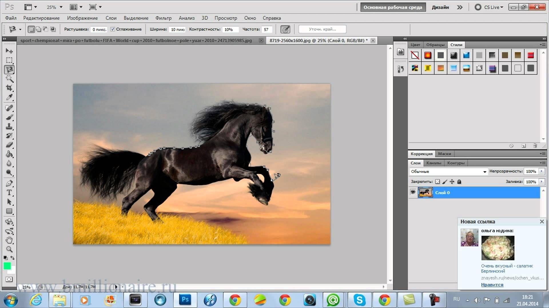 Как правильно вырезать объект в Фотошопе - Программные продукты ... | 1080x1920