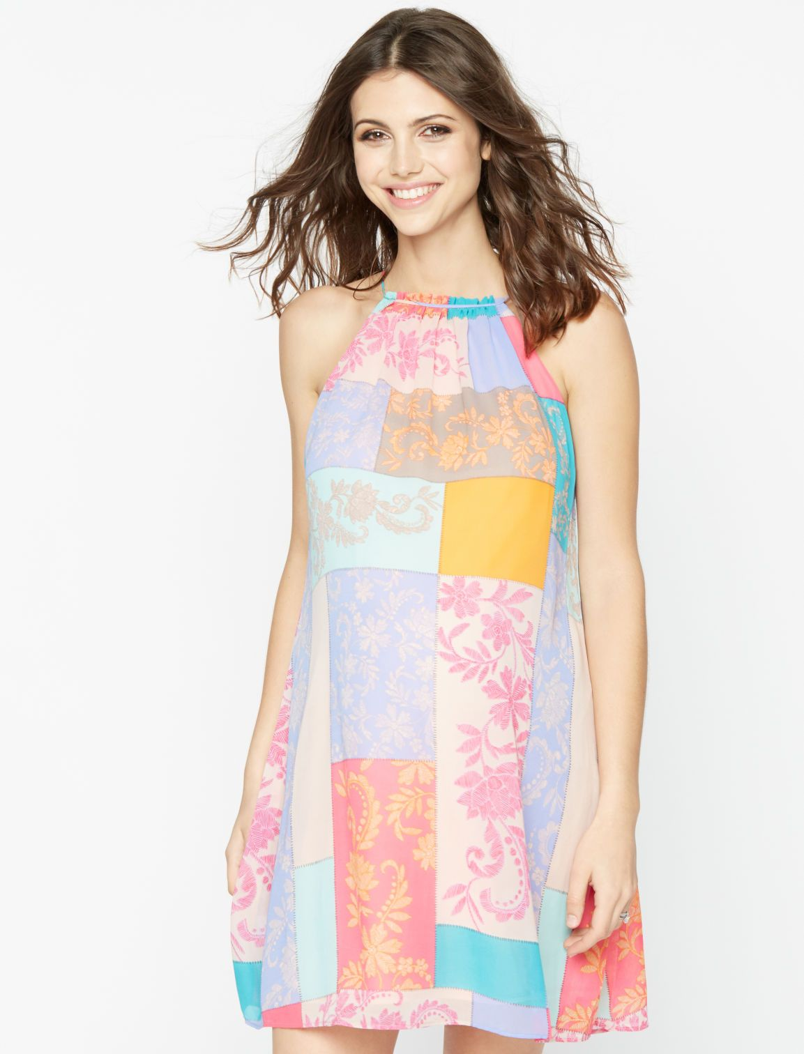 A pea in the pod taylor printed halter maternity dress maternity a pea in the pod taylor printed halter maternity dress ombrellifo Gallery