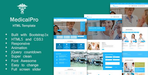 cool MedicalPro - Multi Theme For Hospital, Well being Care, Clinic ...