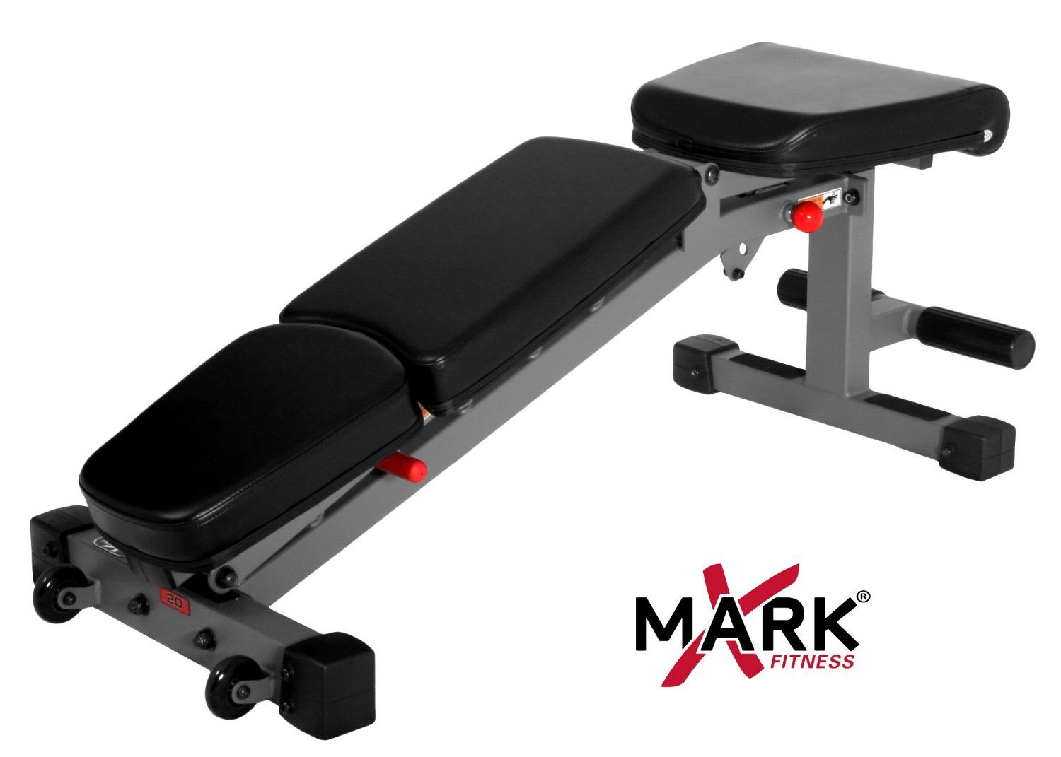 bench exercise adjustable xmark fitness commercial rated
