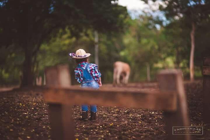 Ensaio fotográfico infantil Manoela a fazendeira