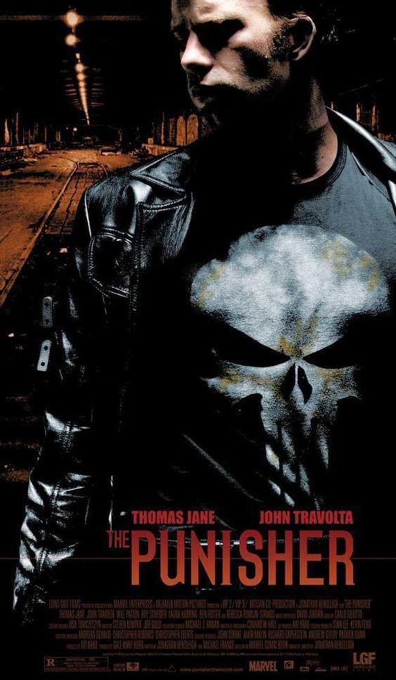 The Punisher 1 El Castigador 2004 The Punisher Movie Punisher 2004 Thomas Jane