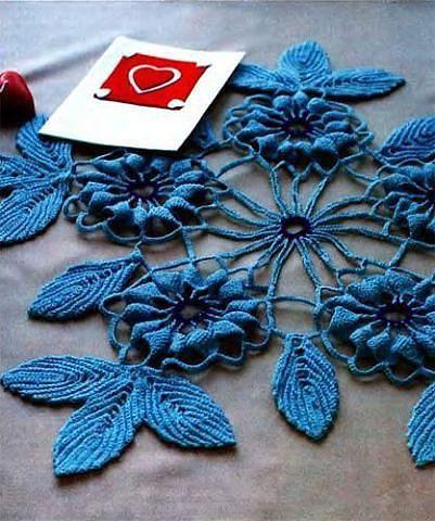 Beautiful Decorative Napkin Knit Crochet Crochet Knitting