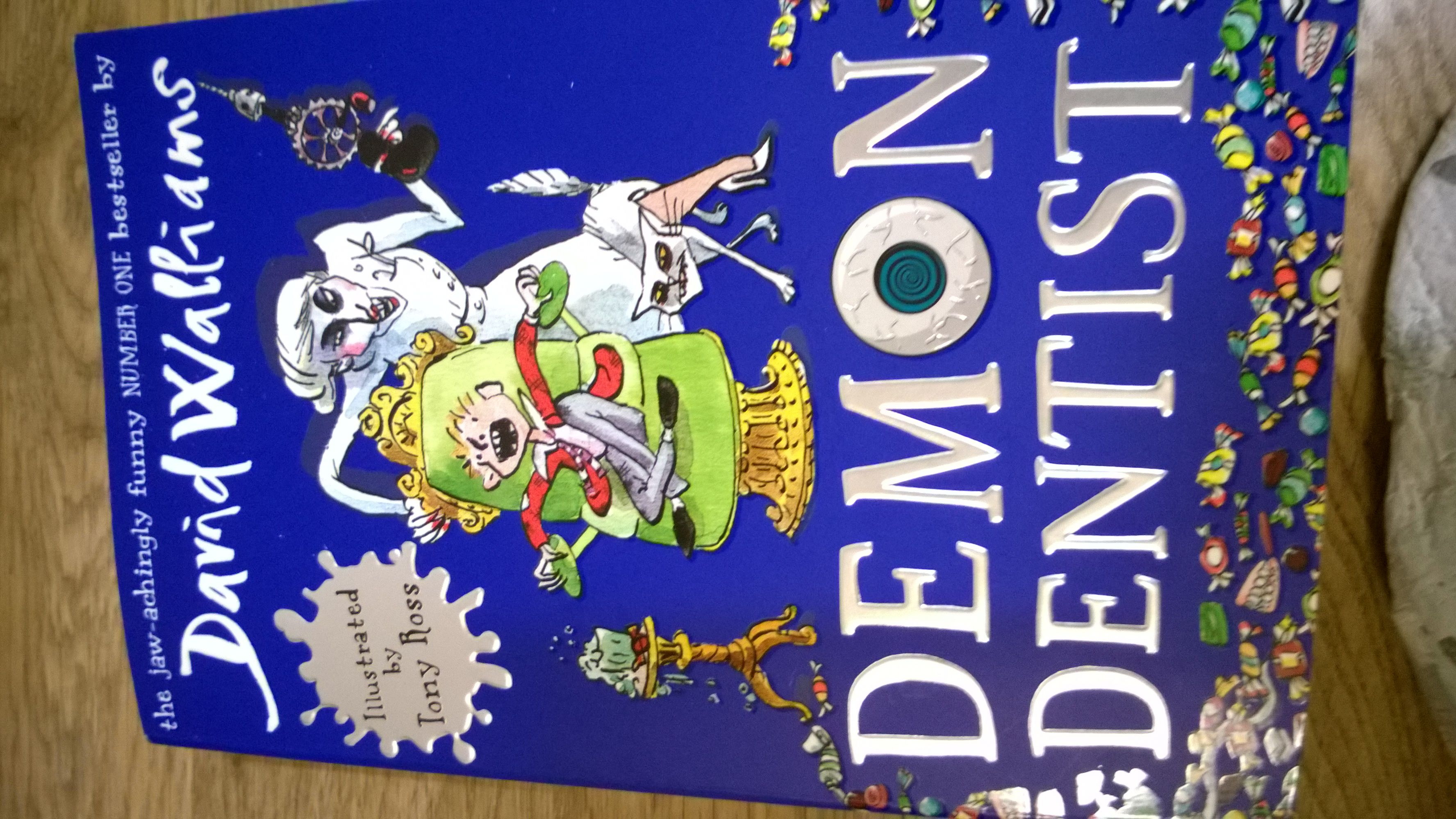 Reviews children s book review demon dentist david walliams - Front Cover Of The Book