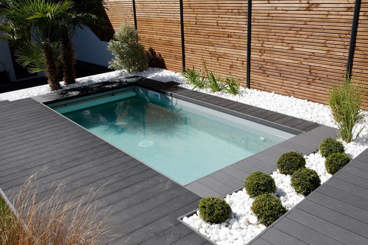 avis piscines caron la baule r alisation mini piscine terrasse bois pinterest piscine. Black Bedroom Furniture Sets. Home Design Ideas