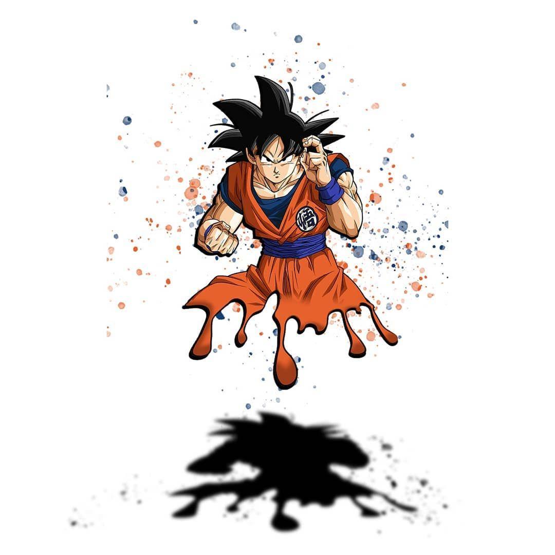 Goku Drip Series Swipe To See Variations Manuelbdiaz Photography Canon Creativity Photoshop Adobe Adovecre Drip Painting Photoshop Photography Goku