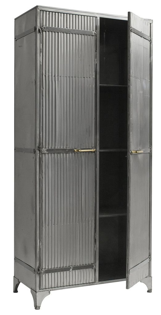 Gilbert Metal Cabinet In 2020 Industrial Furniture Iron