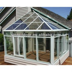 Aluminium Frame & Thermal Insulation Glass Lowes Sunrooms