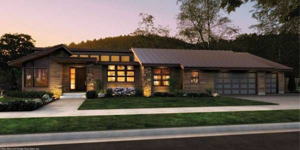 Single Story Contemporary Home Plan 1327 The Mercer Mom S Remodel