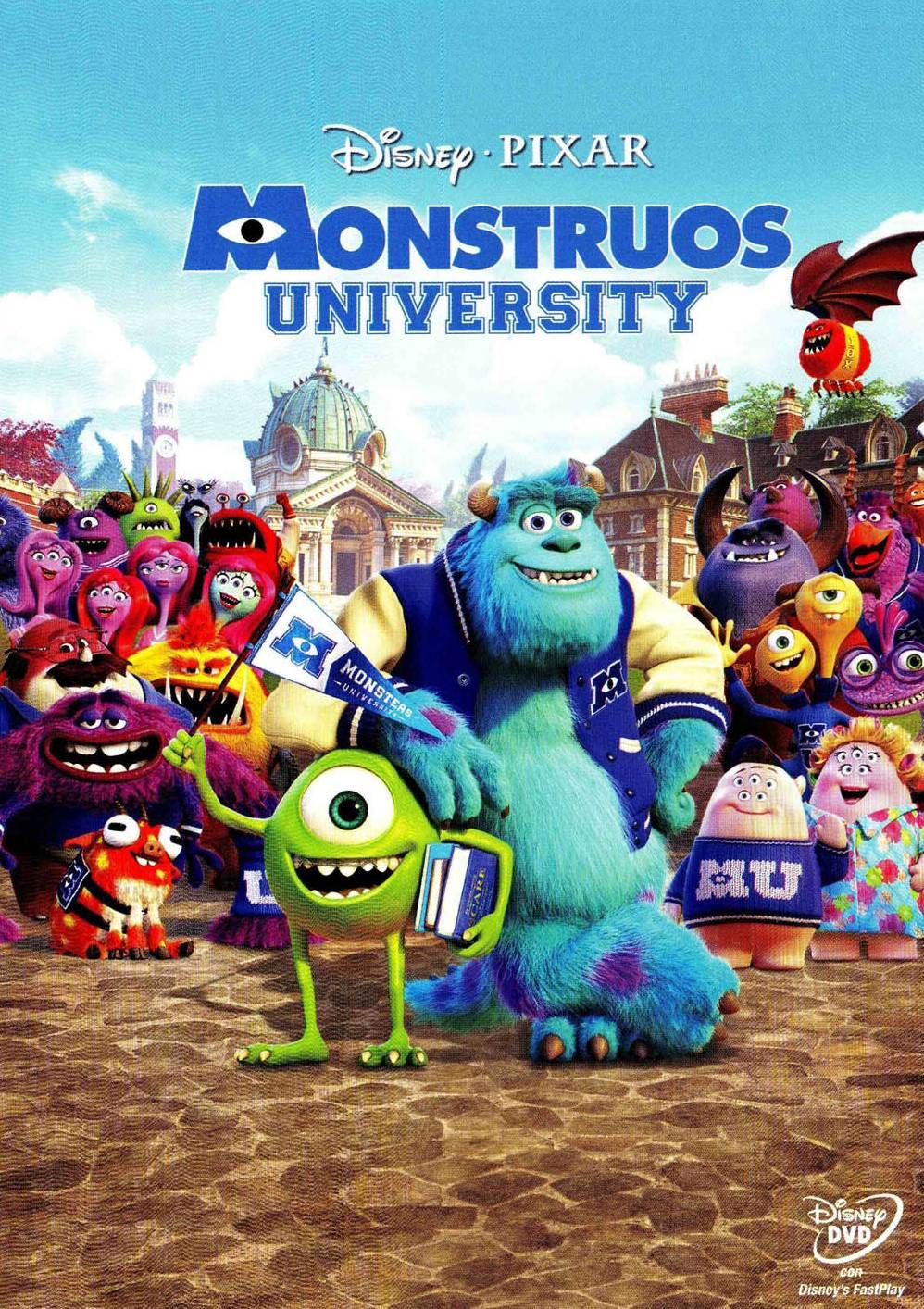 OCTUBRE-2014. Monstruos University. DVD I DIBUIXOS http://www.youtube .com/watch?v=yLfd2BIJpE8