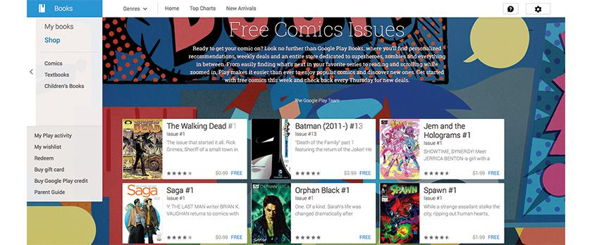 Google Play Books Gets Comic Integration | KnowYourHandheld