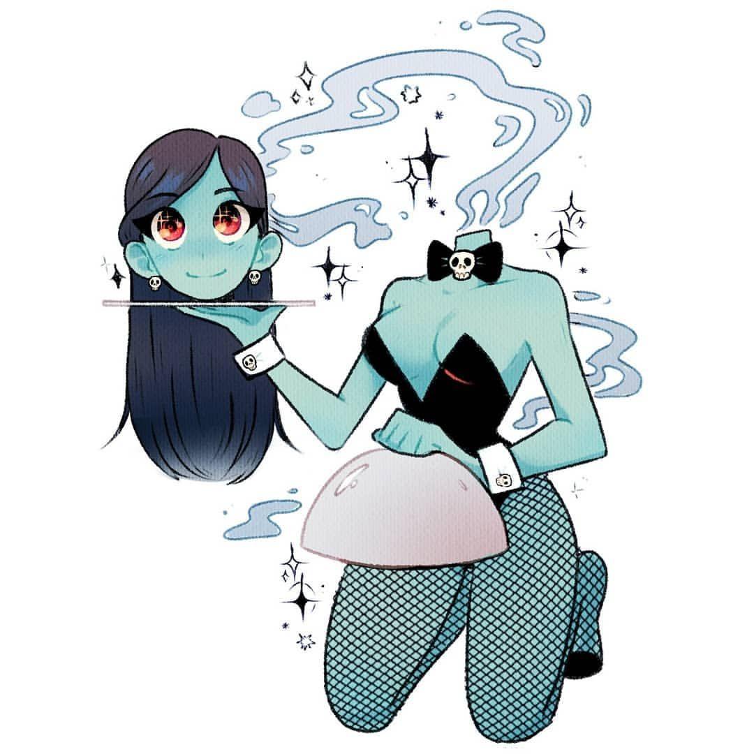 Headless Anime Girl