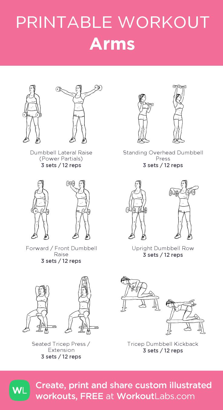 Arms: my custom printable workout by @WorkoutLabs #workoutlabs ...