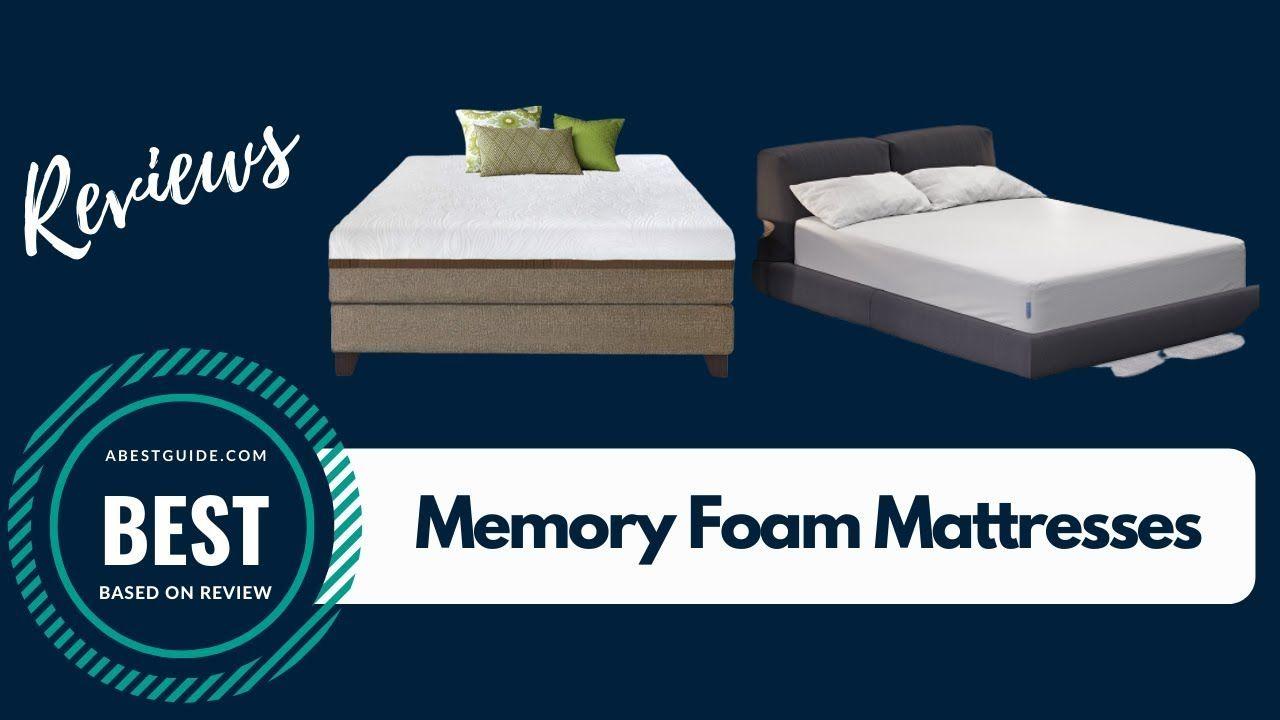 Top Mattresses In 2020 Memory Foam Mattress Reviews Memory