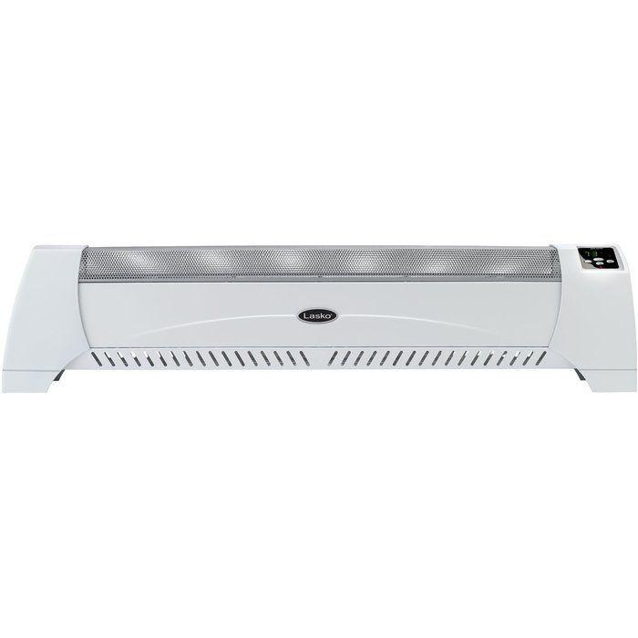 1 500 Watt Electric Convection Heater Baseboard With Digital