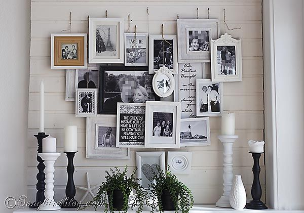 Create A DIY Photo Gallery With Style. Layer PhotosCraft IdeasDecorating  IdeasDecor IdeasFrames ... Photo Gallery