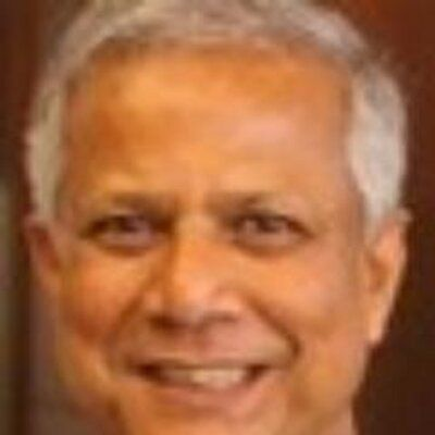 Nobel laureate Muhammad Yunus: Inspiring new book by @Astro_Ron http://hope.li/KeyIsWe . Delighted that he includes me among those he profiles.  #TheOrbitalPerspective