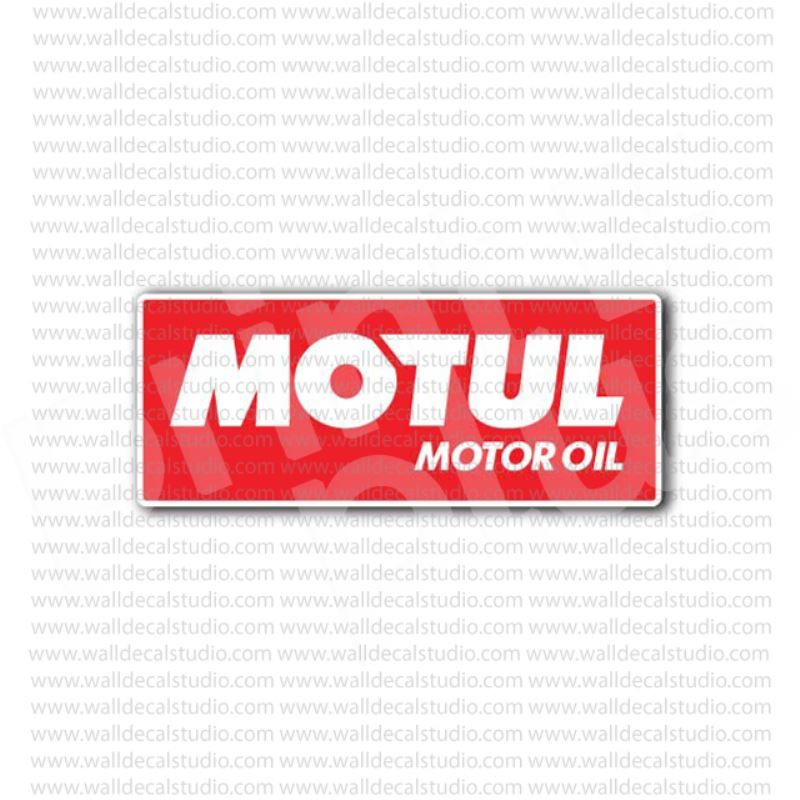 Motul Motor Oil Racing Sticker   Automotive Stickers
