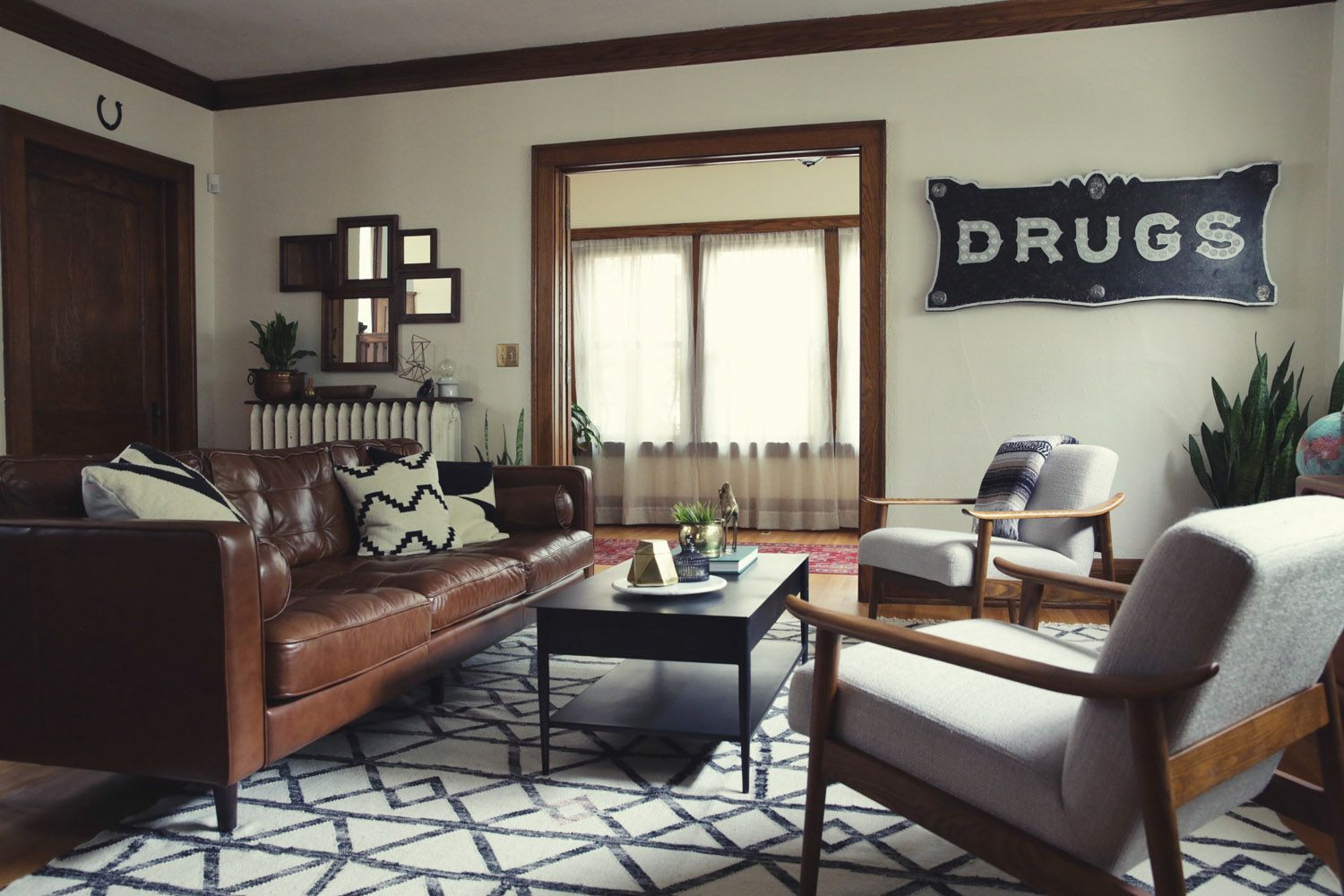 West Elm A Modern Look For A Century Old Craftsman Modern