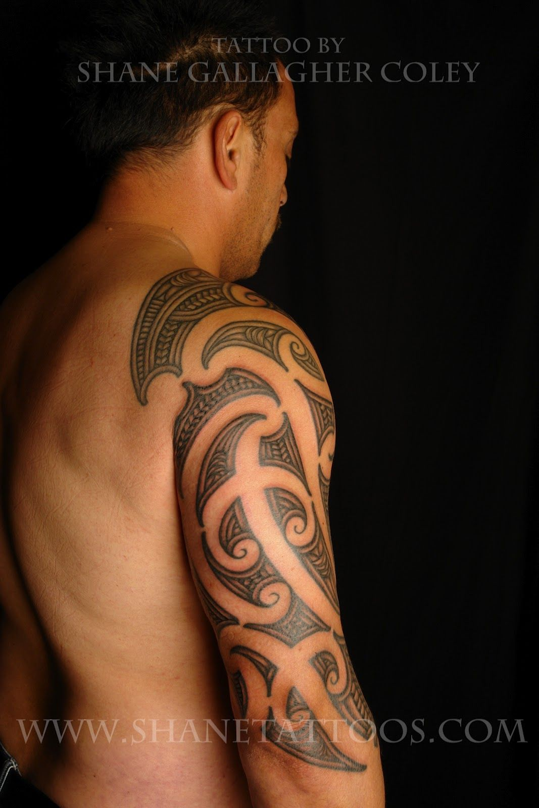 Koru Tattoo: Maori Sleeve Tattoo/Ta Moko