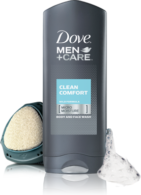 Dove Men Care Clean Comfort Body And Face Wash With Micromoisture Dove Men Care Dove Men Men Care