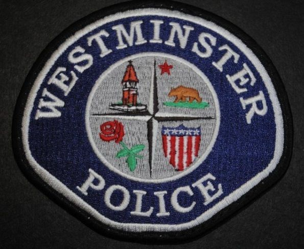 Westminster Pd Calif Police Patches Police Patches