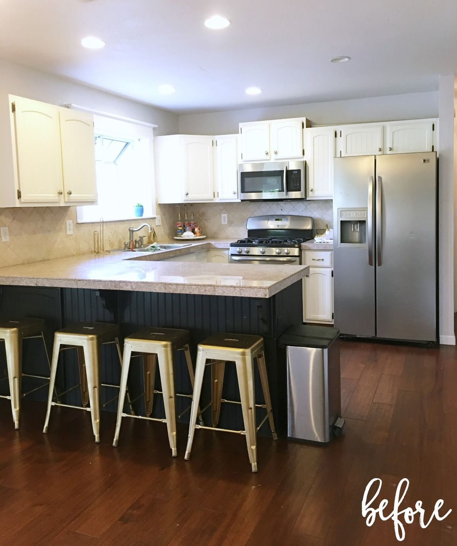 Merveilleux Prescott View Home Reno: DIY Kitchen Remodel Reveal   Classy Clutter